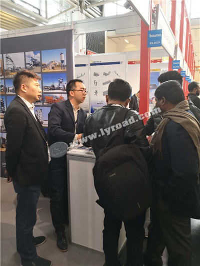 Liaoyuan Machinery attended Bauma Munich 2019