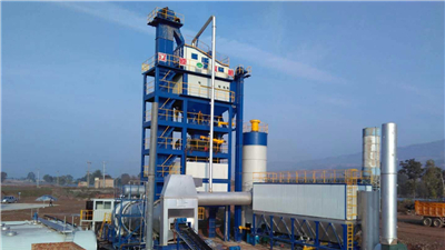 LB3000 Asphalt Mixing Plant In Indonesia