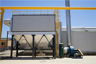 Baghouse Dust Collector Attached With Cold Aggregate Hoppers