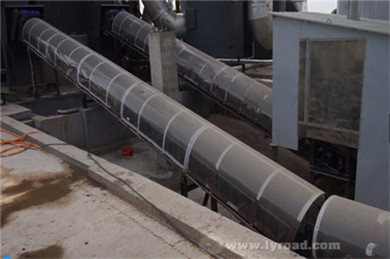 Inclined Belt Conveyor is Integrally Packaged