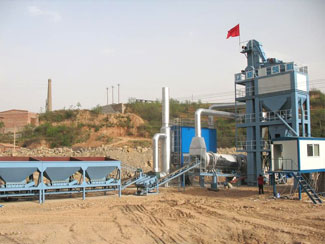 LB2000 Asphalt Batch Mixing Plant
