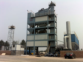 LB5000 Asphalt Batch Mixing Plant