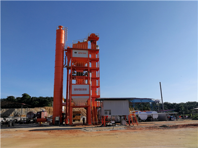 LB1500 Asphalt Mixing Plant In Malaysia