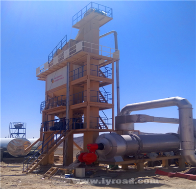LB1500 Asphalt Mixing Plant In Pakistan