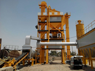 LB1000 Asphalt Mixing Plant In Philippines