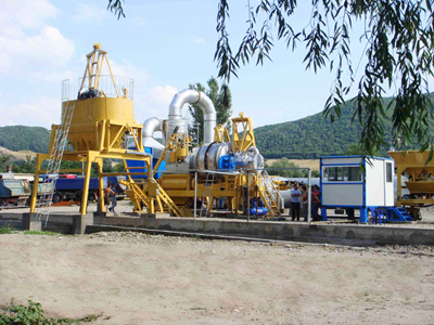 QLB80 Asphalt Mixing Plant In Philippines