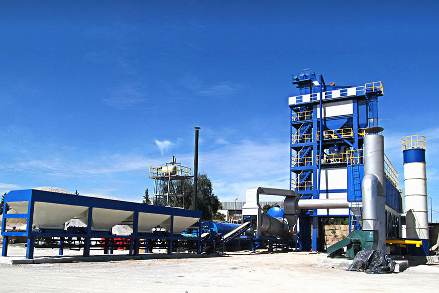 LB1500 Asphalt Batch Mix Plant for Algeria Customer