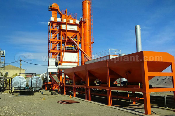 LB1500 Asphalt Plant Installed in Russia and Under Smooth Running
