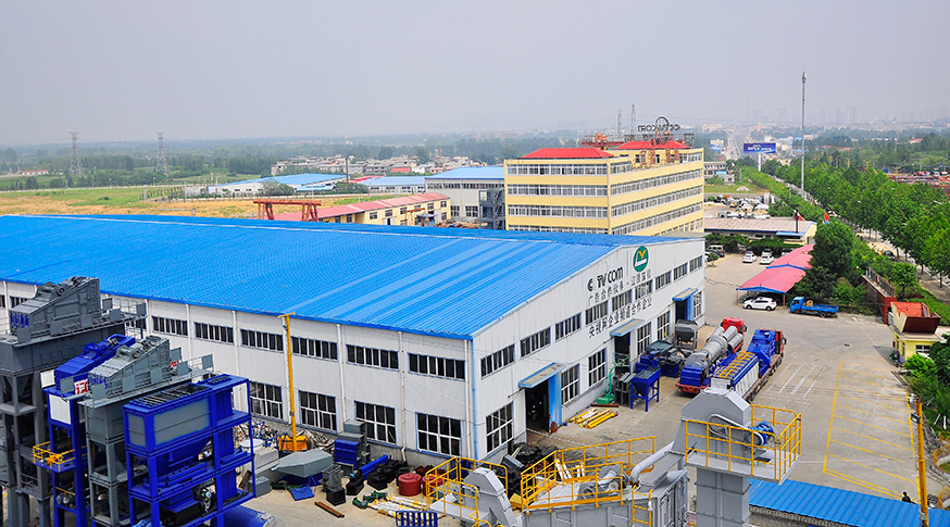 overview of China top asphalt mixing plant manufacturer