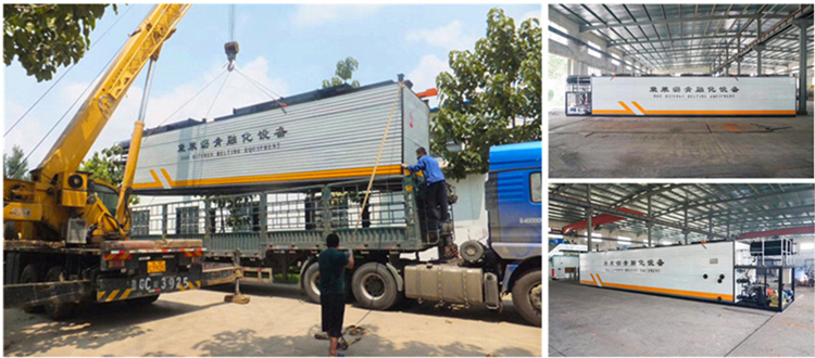 LTT-6 Bitumen Decanting Machine Ready to Run Towards Central African Republic