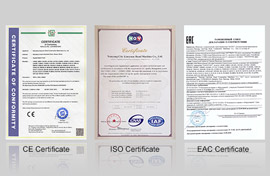 CE , ISO , EAC Certified,CCMA Director
