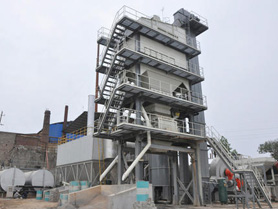 Used Astec Asphalt batching plant for sale