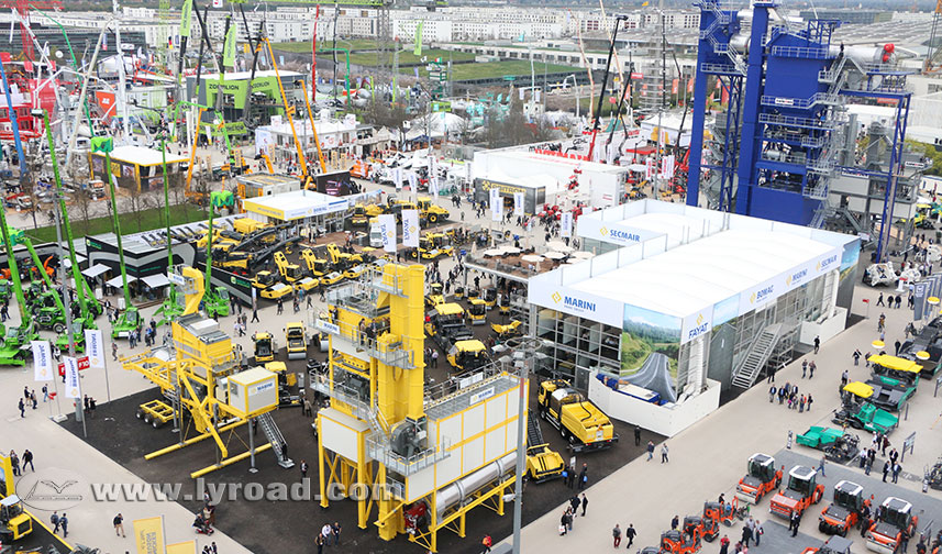 LY Group attended Bauma Munich