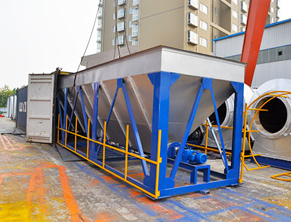 80 TPH  Asphalt Batch Mixing Plant Shipped to Pakistan