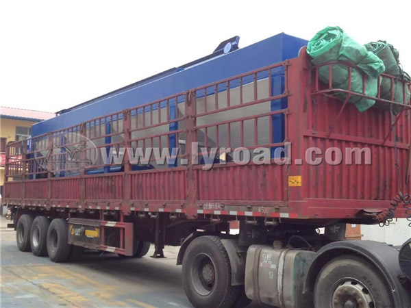 Asphalt Batch Plant Transported to Tibet