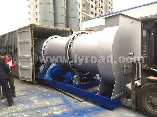 Asphalt Mixing Plant Shipped to Middle East Country