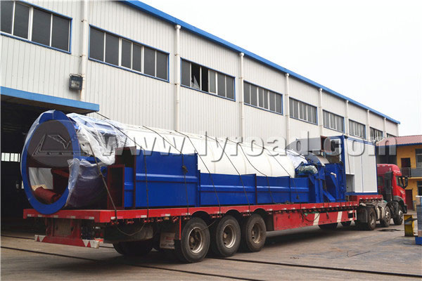 Asphalt Plant Transported to Sichuan in Morning