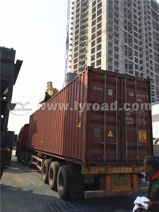 Asphalt Plants Sent to Guizhou and Zimbabwe the Same Day