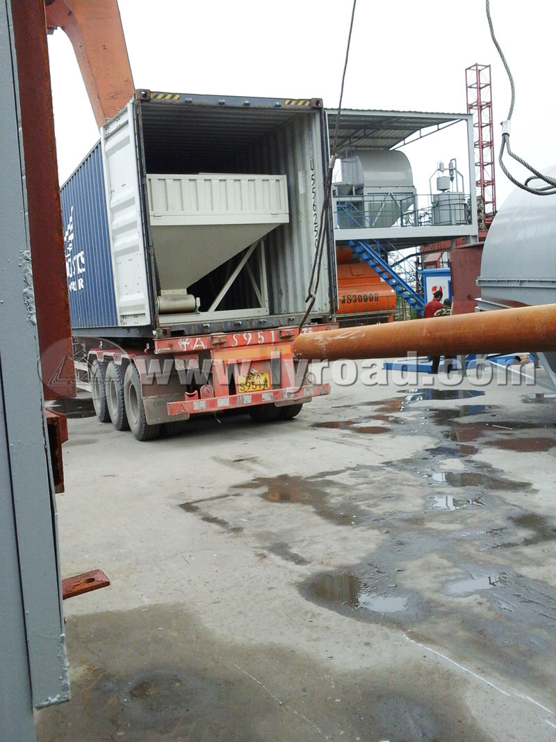 HZS25 Concrete Mixing Plant Are Ready To Be Shipped To UZ