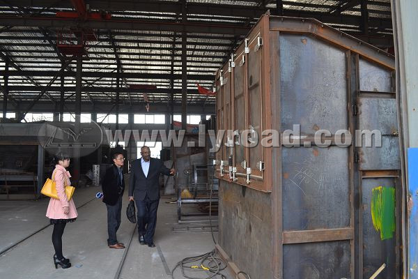 study asphalt mixing plant in workshop