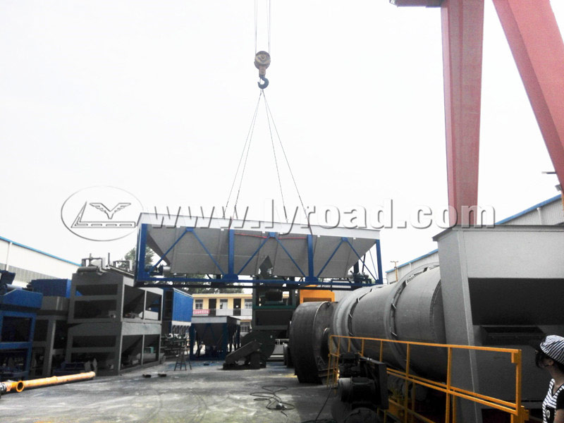 LB1500 Asphalt Plant and a Baghouse Dust Collector Go to Thailand