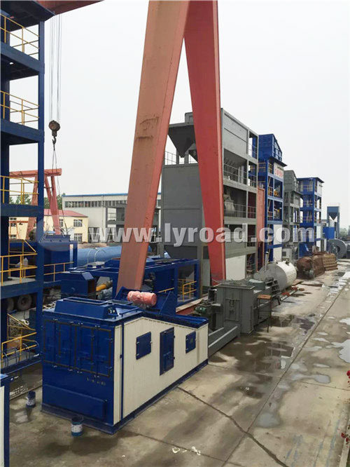 LB2500 Asphalt Mixing Plant was Sent to Huaihua