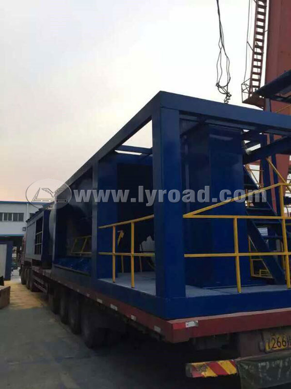 Xinjiang Client Bought LB2000 Asphalt Plant from Us