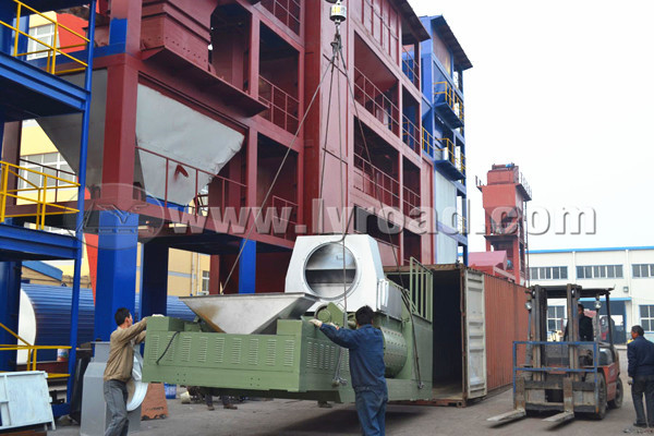 QLB30 Asphalt Mix Plant Shipped To UK