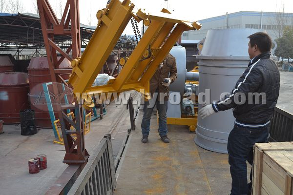 RM500 Rotation Type Pulverise Coal Burner Delivered To Turkey