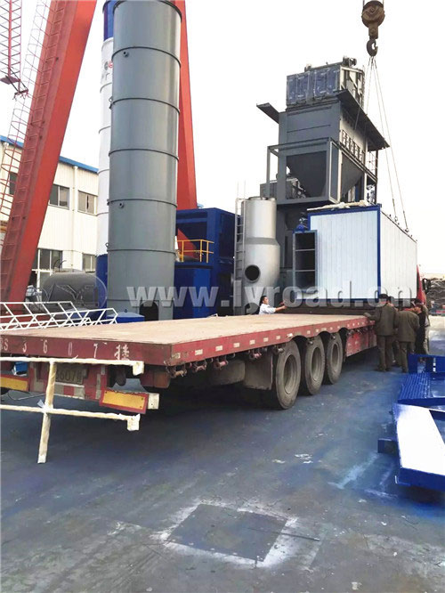 The 11th Asphalt Plant was Shipped to Africa This Year