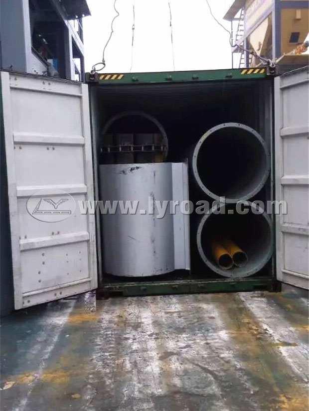 Two Sets of Asphalt Plants Shipped to Angola