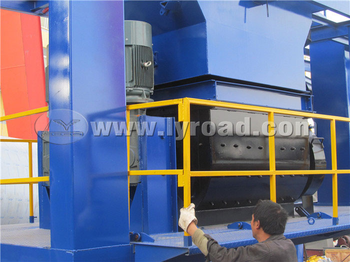 another LB1500 asphalt mixing plant was dispatched to Yunnan