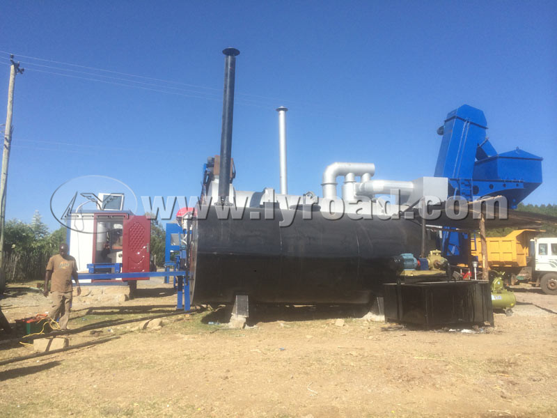 MDHB20 Asphalt Drum Plants Successfully Installed in Kenya