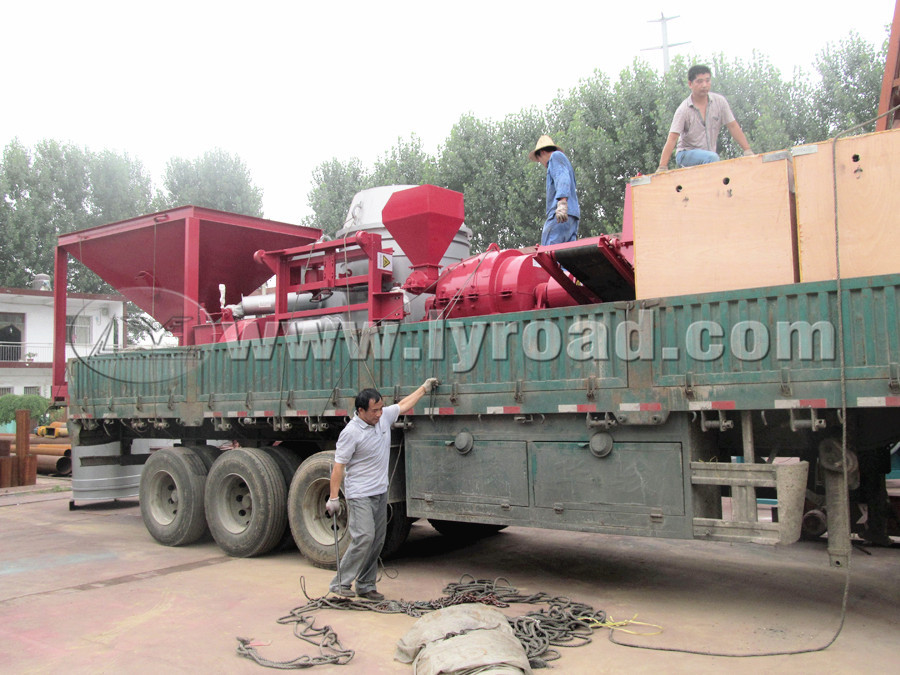 RM1000 coal burner been shipped to Peru on 3th,July