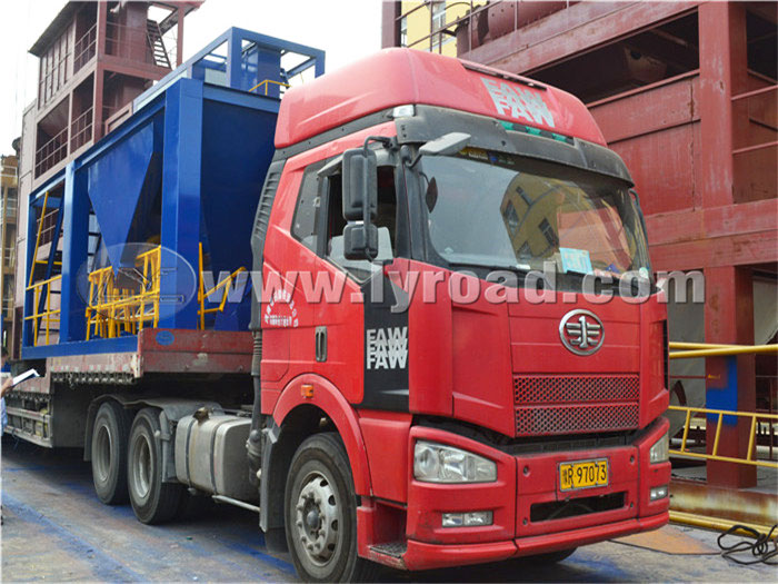 We Transported the LB1500 Asphalt Mixing Plant to Yuanling