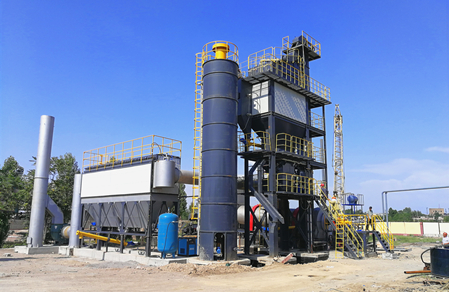 LB series stationary hot mix plant