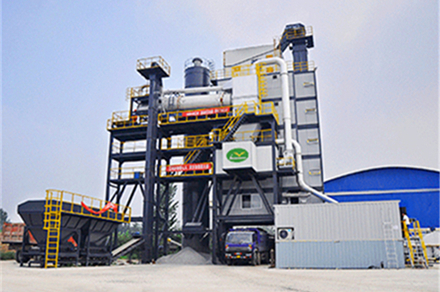 asphalt recycling plant RLB series manufactured by Liaoyuan Machinery