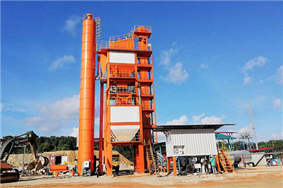 Our LB1500 Asphalt Plant in Malaysia